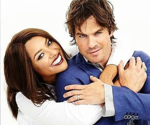 ian somerhalder, tvd, and kat graham image