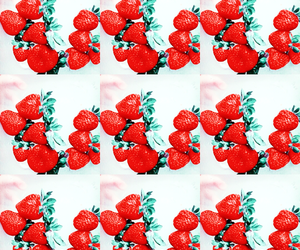 color, strawberries, and foto image