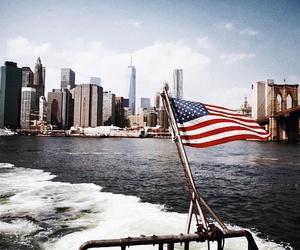 america, new york, and usa image