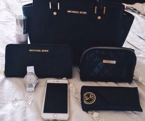 Michael Kors, bag, and black image