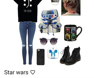 fashion, Polyvore, and star wars image