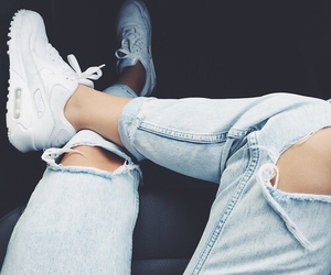 nike, jeans, and fashion image