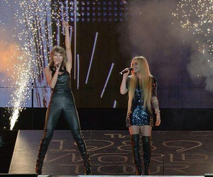 Avril Lavigne and Taylor Swift image