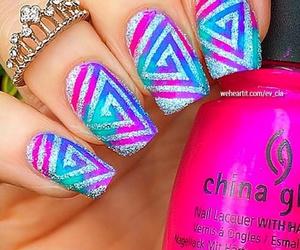 jewelry, manicure, and nail polish image