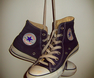 converse, punk, and shoes image