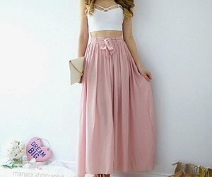 fashion, pink, and style image