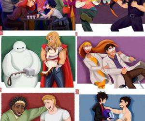 Avengers, Marvel, and big hero 6 image