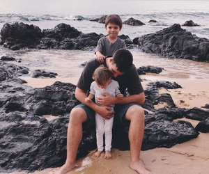family, father, and cute image