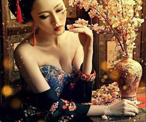 japan, geisha, and asian image
