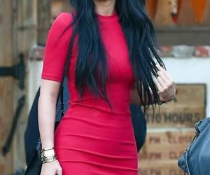 kylie jenner, dress, and hair image