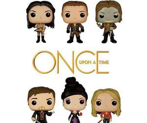 once upon a time, funko pop, and ️ouat image