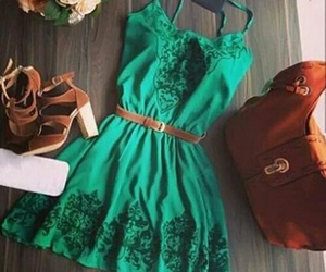 dress, outfit, and vacations image