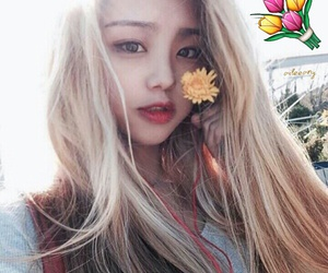 girl, blonde, and asian image
