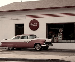 coca cola, oldschool, and vintage image