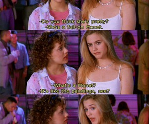 Clueless, quotes, and funny image