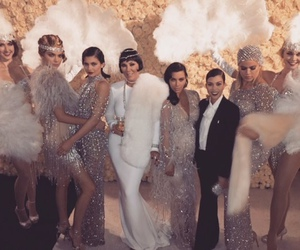 kim kardashian, kylie jenner, and kardashian image