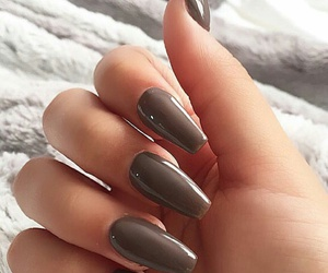 nails, winter, and nudes image