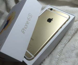 gold, iphone, and iphone gold image