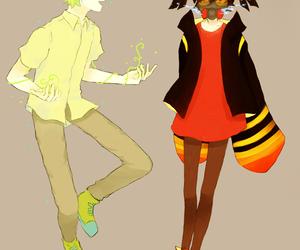 anime, anime couple, and haruka image