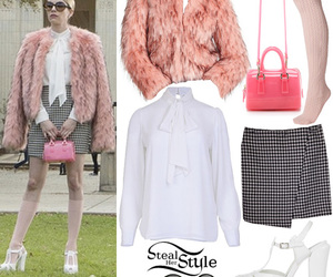 emma roberts, pink, and outfit image