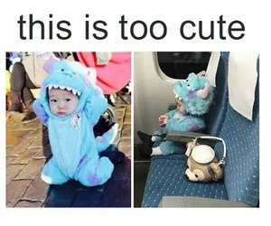 adorable, little, and monster image