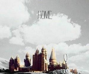 hogwarts, home, and harry potter image