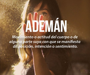 ademán and words image