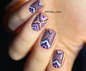 girly, nails, and pretty image