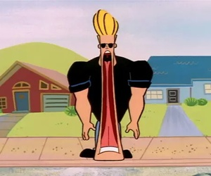 Johnny bravo, funny, and cartoon image
