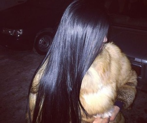 hair, luxury, and fur image