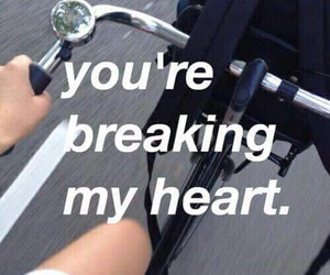 heart, sad, and quotes image