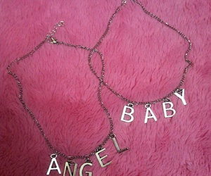 accesories, baby, and necklace image
