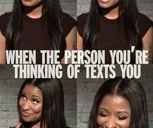 text and nicki minaj image