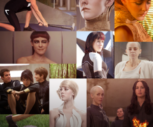 johanna, the hunger games, and thg image