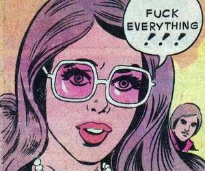 comic, grunge, and pastel image