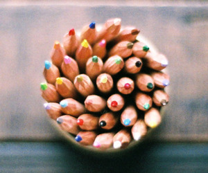 pencil, colors, and photography image