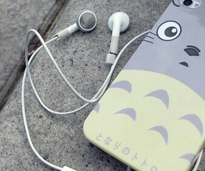 iphone, totoro, and phone image