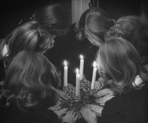 witch, candle, and witchcraft image