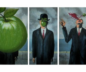 funny, art, and apple image
