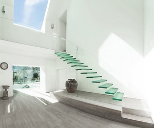 glass, house, and white image