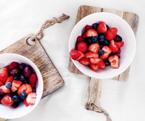 food, fruit, and strawberry image