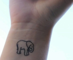 tattoo and elephant image