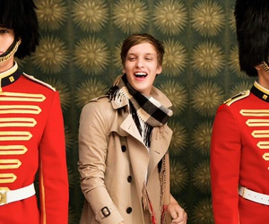 Burberry, george ezra, and clothes image
