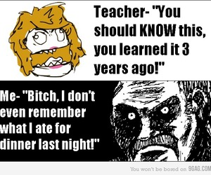 9gag, funny, and school image