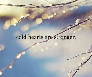 cold, hearts, and life image