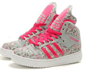 adidas, floral, and flowers image