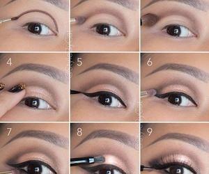 eye and maquillaje image