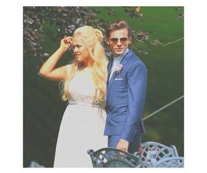 louis tomlinson, one direction, and wedding image