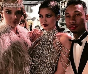 kendall jenner, kylie jenner, and tyga image