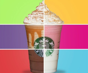 starbucks and colors image
